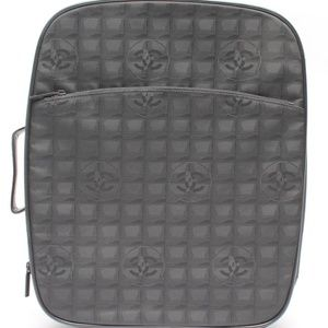 Chanel  Line Rolling Luggage Trolley Suitcase